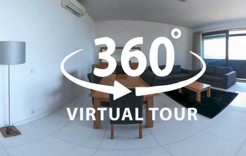 Visita virtual Apartamento T2 Edificio Baia, Luanda