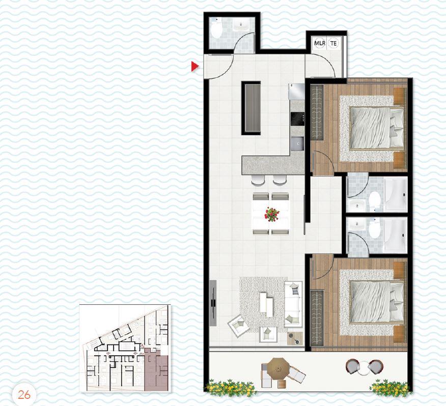 Apartamentos Ocean Corner Lofts